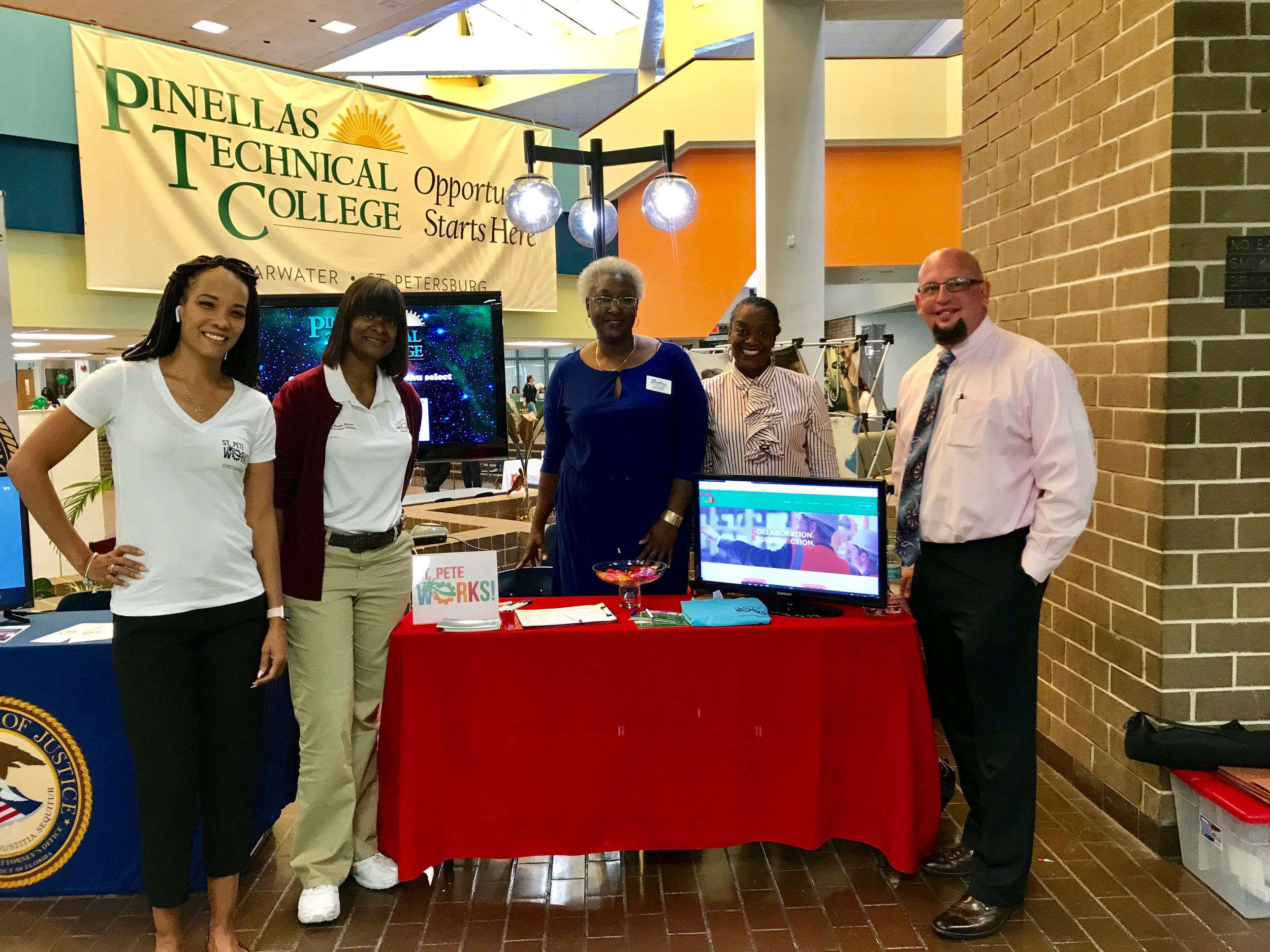 Showcase of Services event held Monday, October 15, 2018 at PTC.
