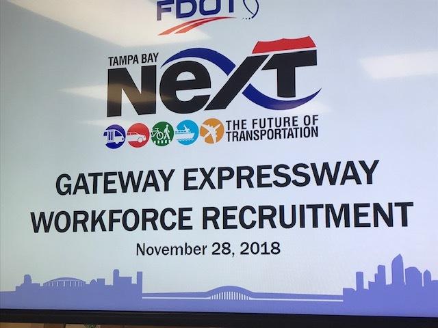 Gateway Expressway Workforce Recruitment Event, held Nov. 28, 2018