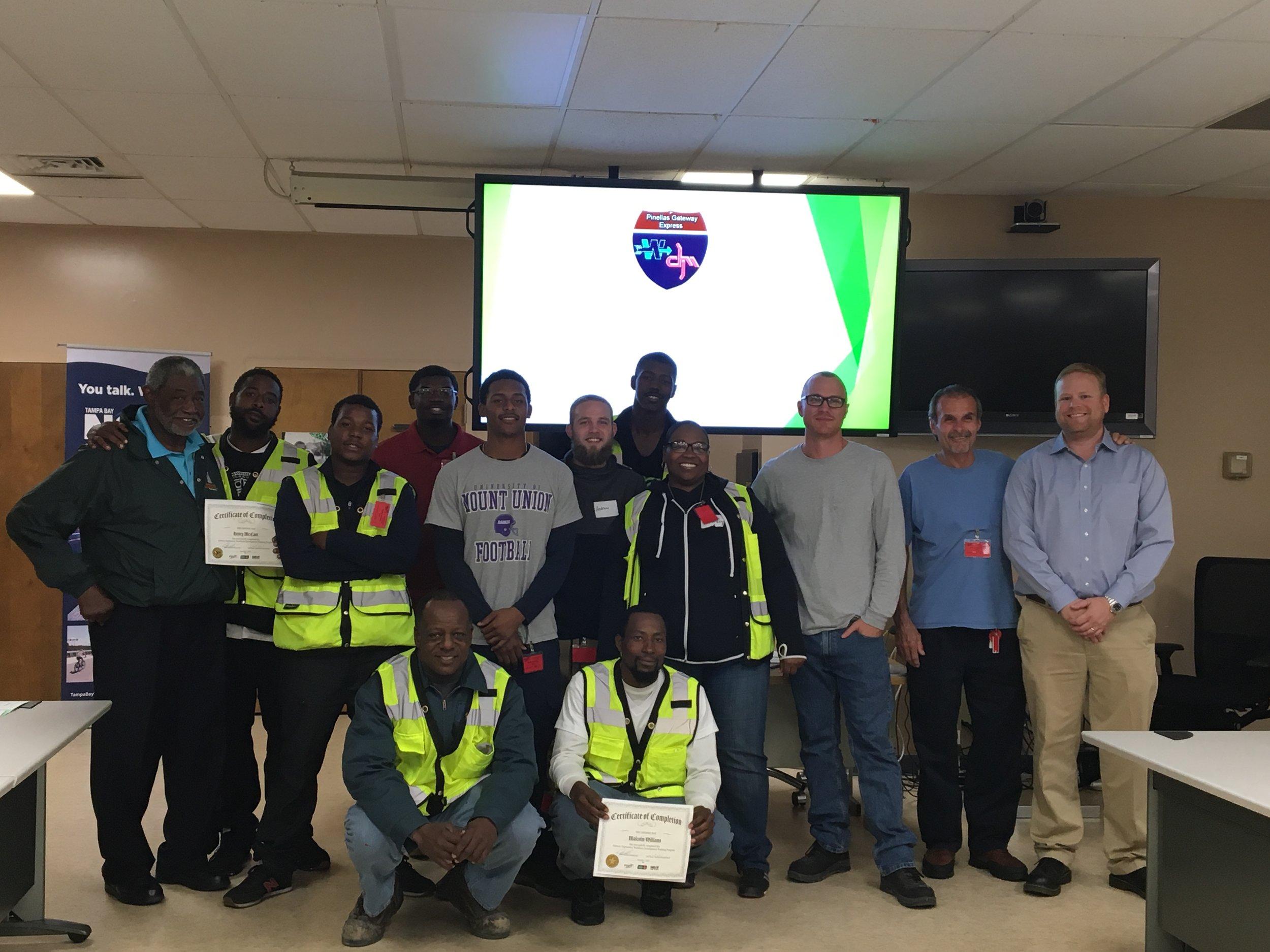 FDOT Gateway Construction project GRADUATES!