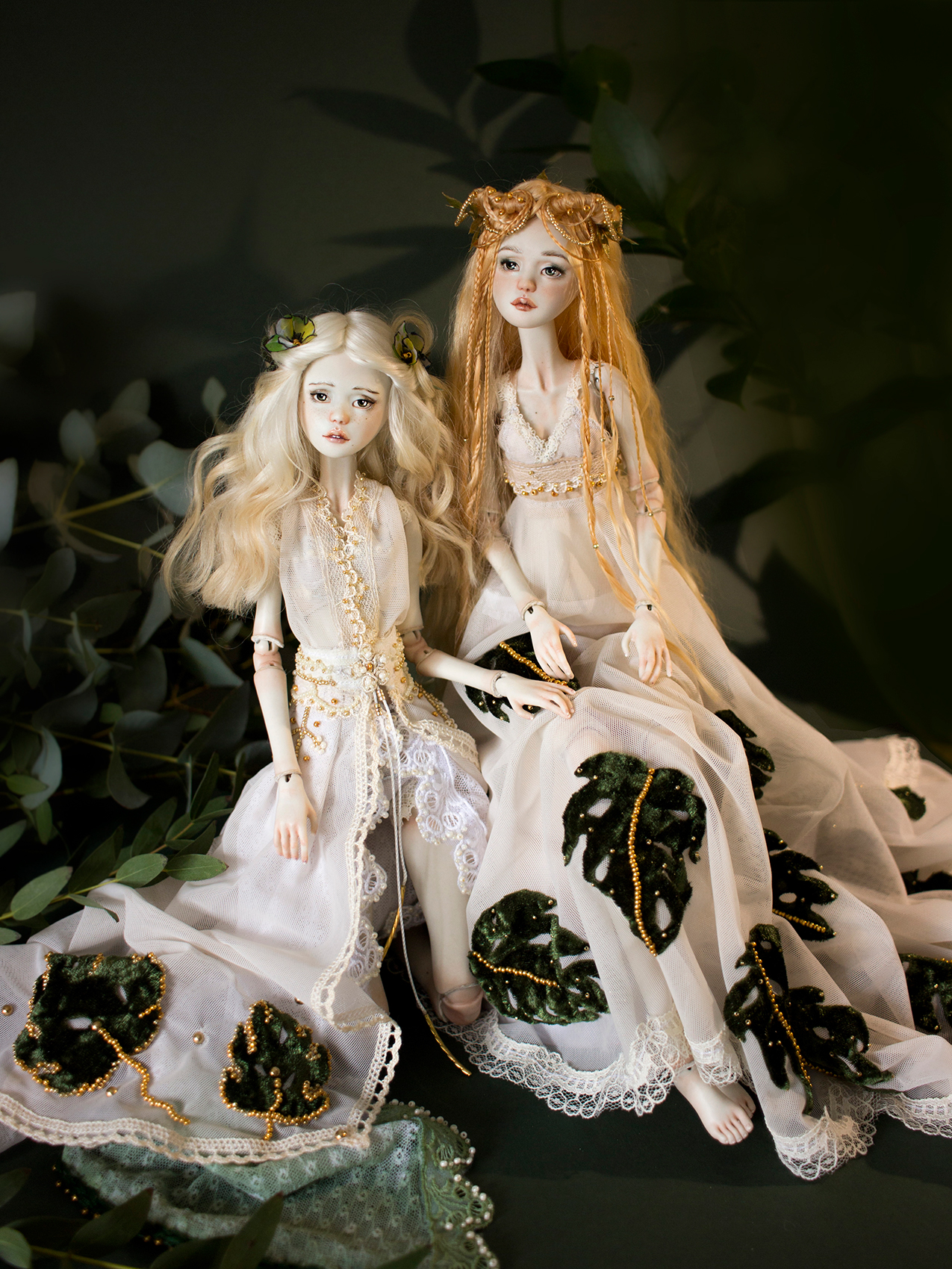 Monstera Sisters by Nymphai Dolls