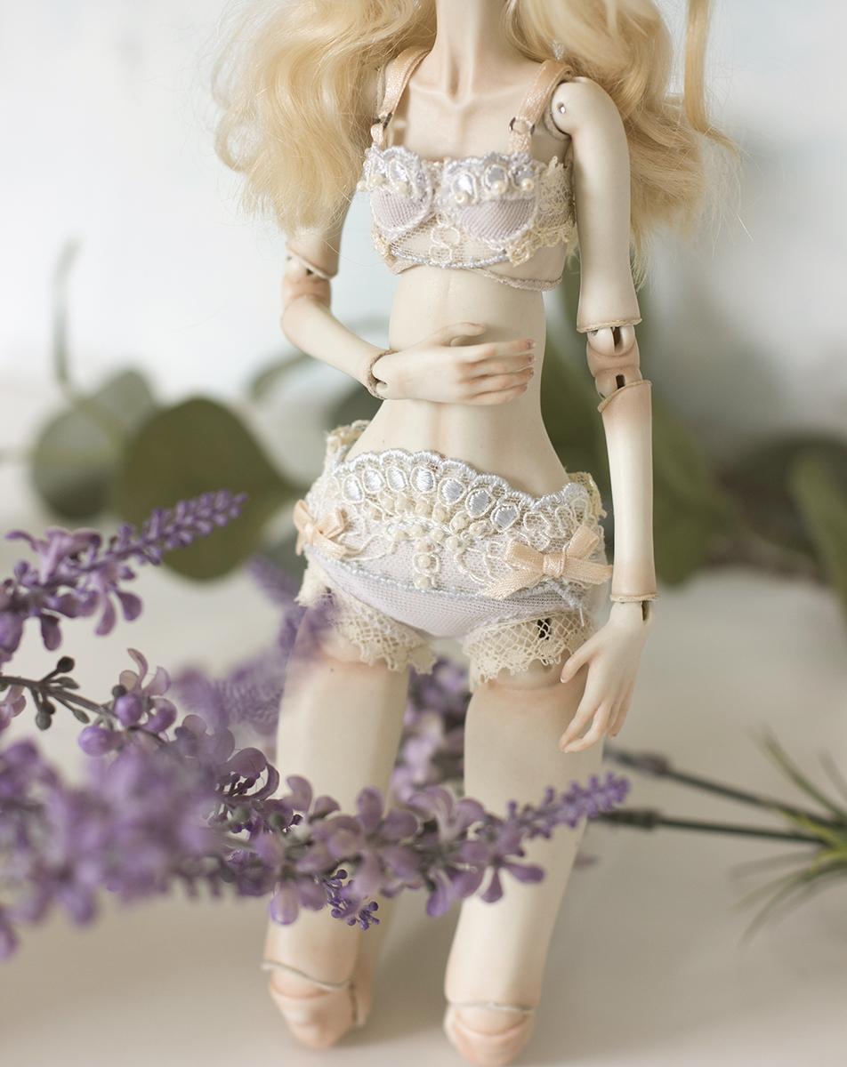 Nymphai Dolls lingerie tutorial