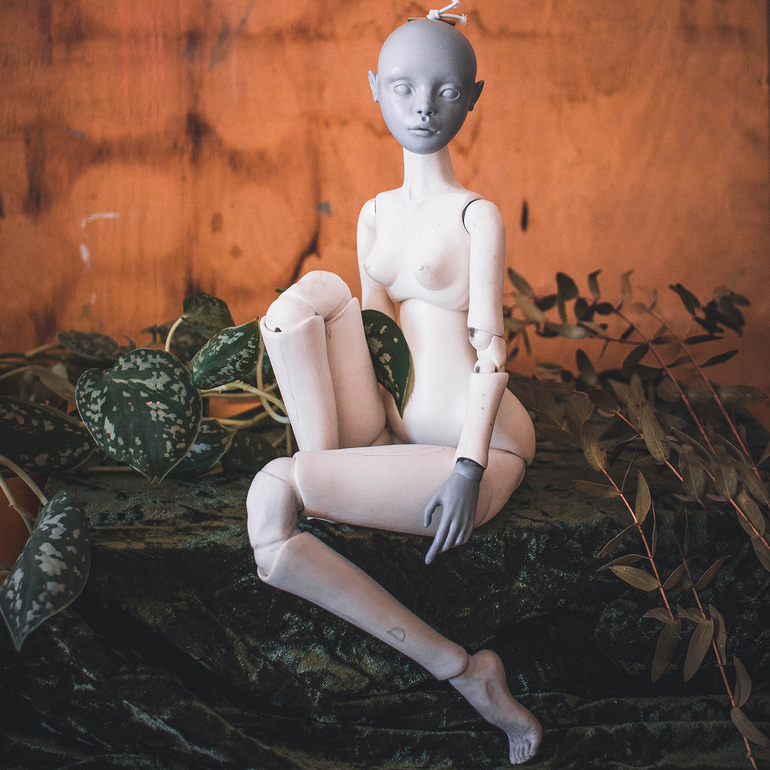 Create a fully poseable doll - Following this class, you'll be able to sculpt a fully poseable BJD. I've documented every step in my sculpting process and depicted all my techniques.