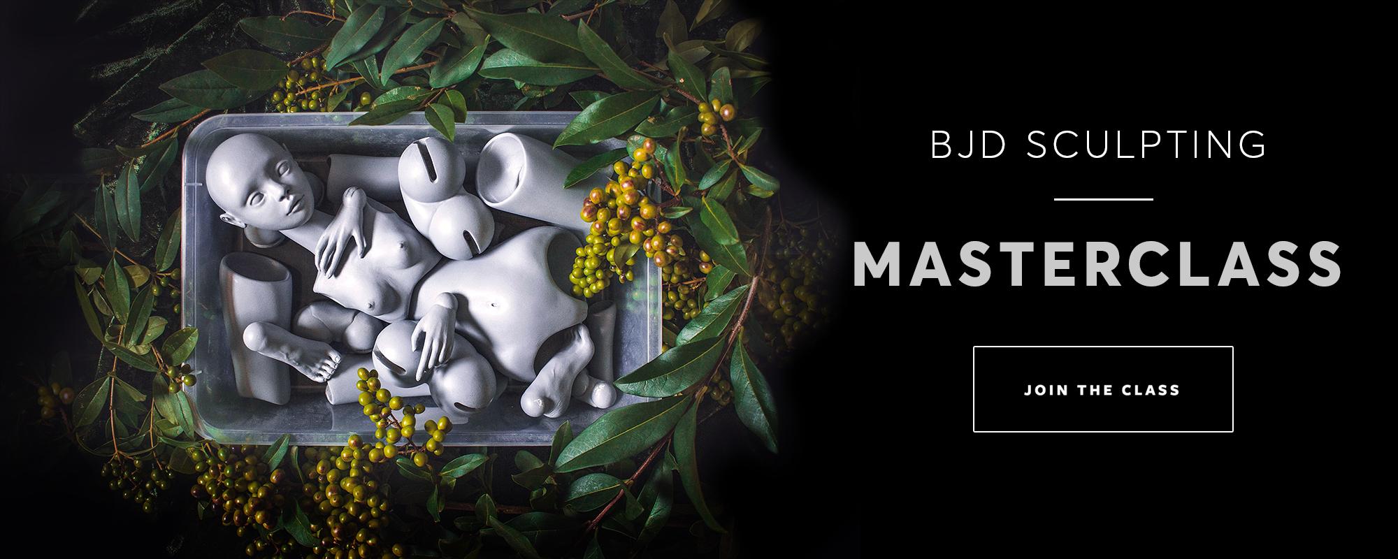 BJD sculpting masterclass by Nymphai Dolls