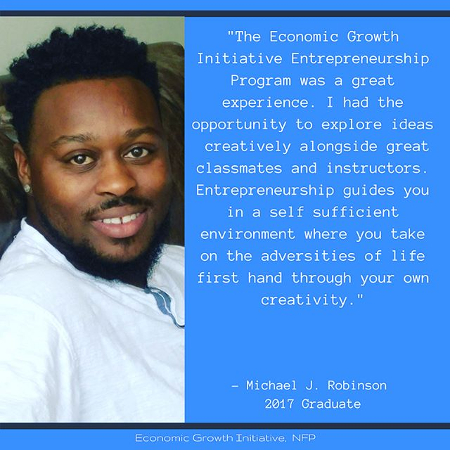 """""""The Economic Growth Initiative Entrepreneurship program was a great experience. I had the opportunity to explore ideas creatively alongside great classmates and instructors. Entrepreneurship guides you in a self sufficient environment where you take on the adversities of life first hand through your own creativity. • •  I want to implement """"Tiny Homes"""" to enhance economic development where homeowners can downsize in order to save in developing neighborhoods. I believe that the real-world applicable skills that are taught in the EGI program, will allow my business models and strategies to have a powerful impact on communities across the nation. • •  Tiny Homes are coming to a neighborhood near you!"""" • • -Michael J Robinson 17'  Way to go Mike! • Attached are some of the Tiny Home layout and design concept ideas Mike will implementing in a town near you! #maywood  #EGITHRIVE  #tinyhome  #entrepreneur  #supportsmallbusiness  #egientrepreneurship"""