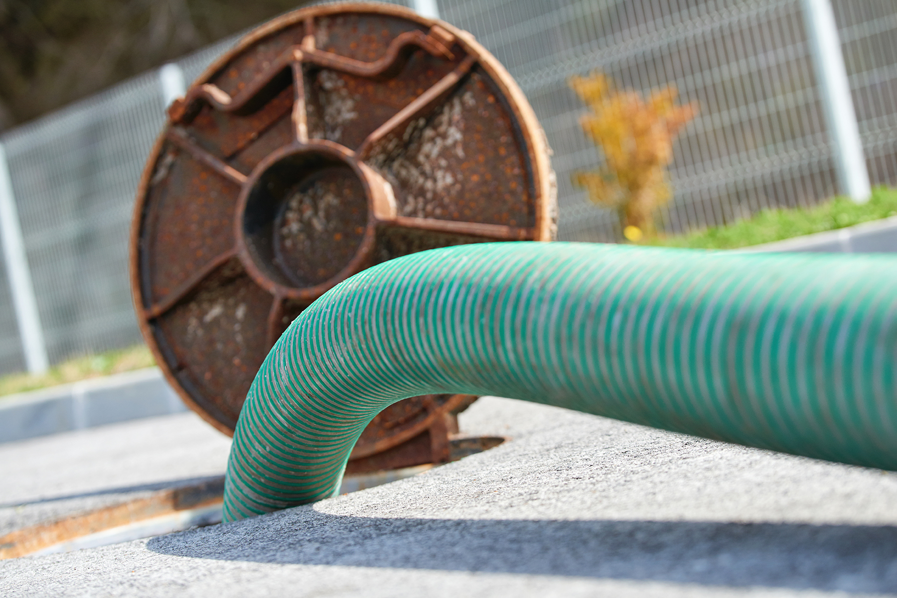 Commercial sewer and drain cleaning by Rapid Flush