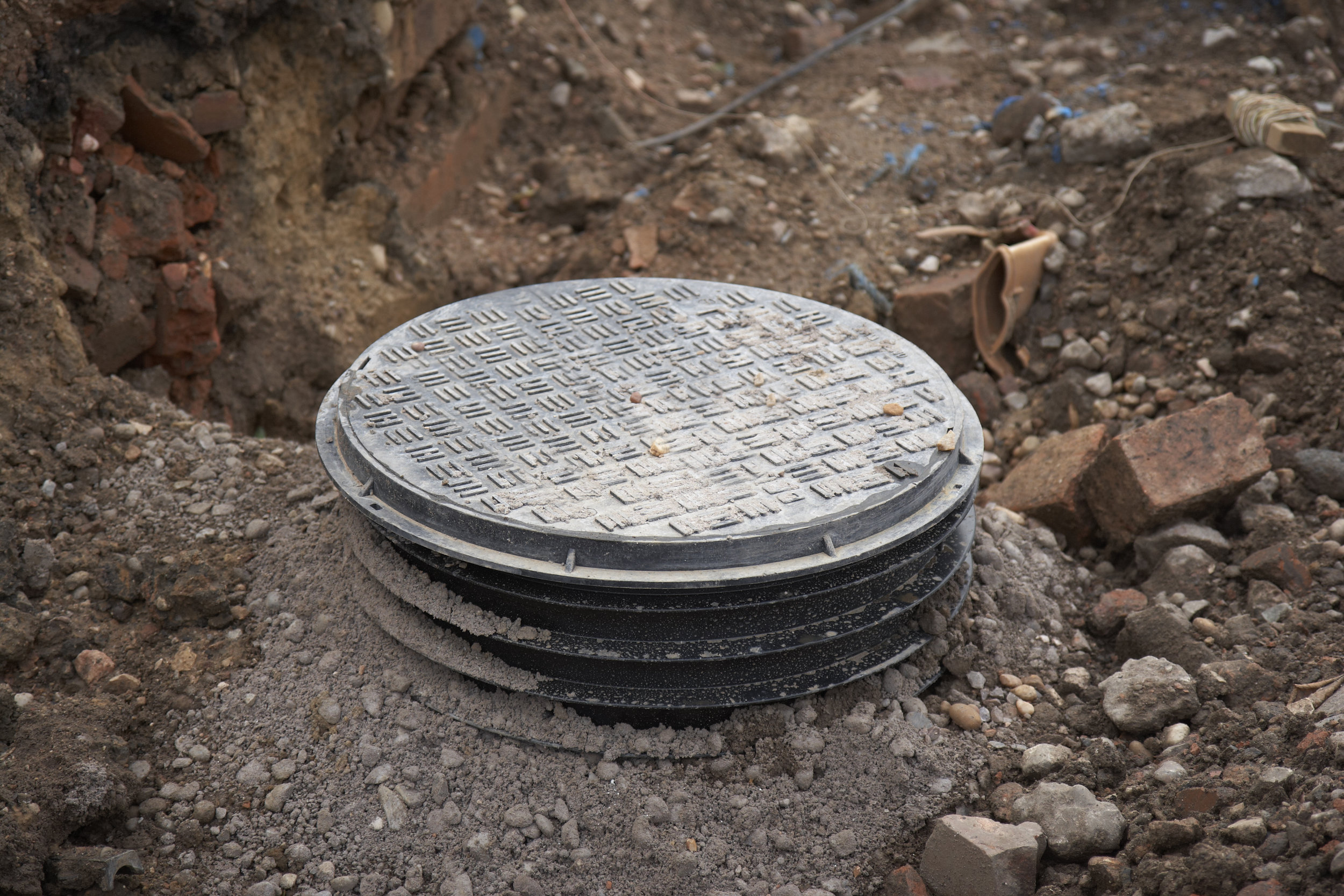 What is a septic tank riser