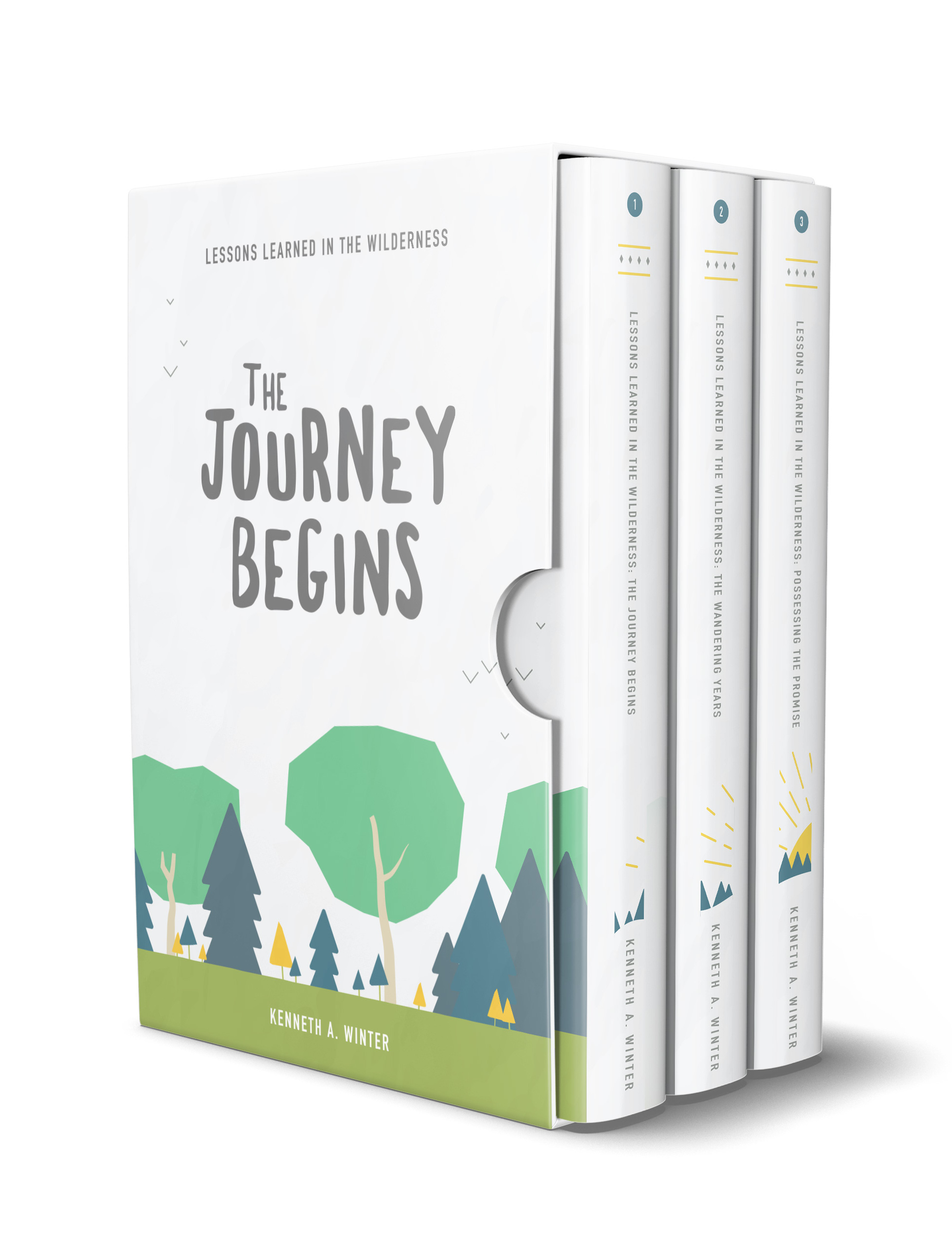 Books 1-3 Now Available As A Boxset - The first three books in the Lessons Learned In The Wilderness series are also available as a collection in a single print volume or an e-book boxset at a significant savings through Amazon.