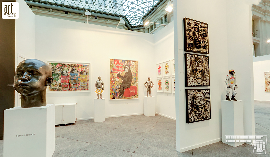 art fair with 3punts galeria barcelona art madrid