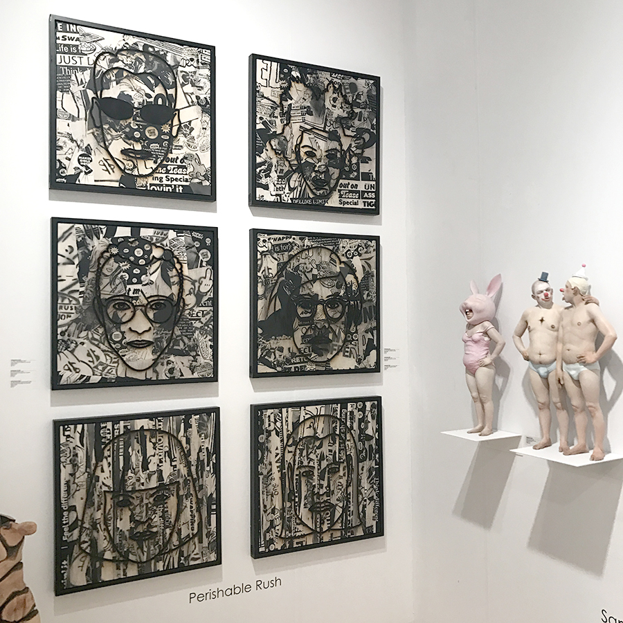 context art miami art fair with 3punts galeria