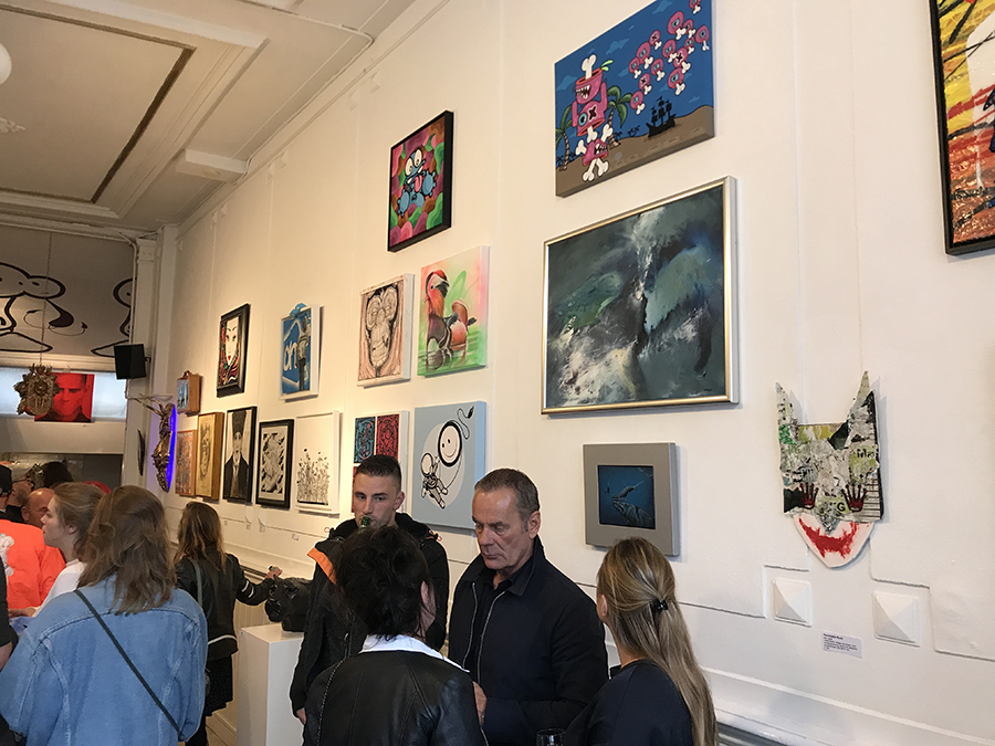 group show opening Go Gallery Amsterdam