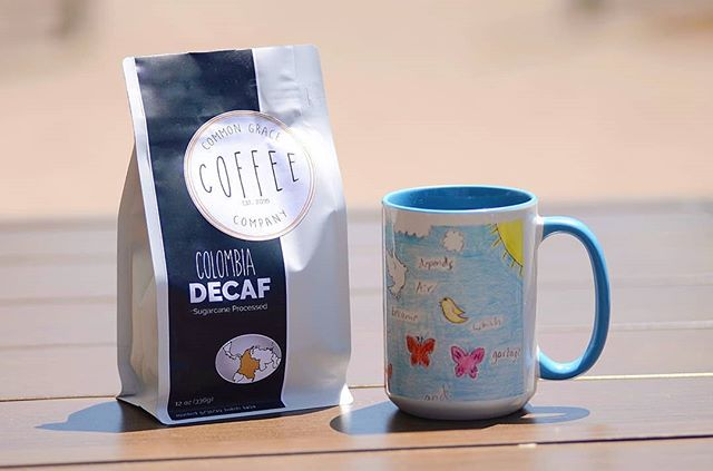 Random coffee knowledge of the day! Let's talk decaf:) currently our decaf is a Columbia sugar cane process decaf. What is this sugar cane process you might ask? It's a process where the molasses of the sugar cane is fermented and mixed with acetic acid and is used as a wash to make the bean decaffeinated. This avoids excessive heating of other decaffeination processes that can lead to flat flavor and instead gives you potent Columbia flavors without the caffeine!☕🔥 #commongracecoffeeco #decaf #sugarcaneprocess #love #lovedones #lovedwellservedwell #spreadlove #spreadcoffee #enjoygreatcoffee #dearborncoffeeshop #greatcoffee