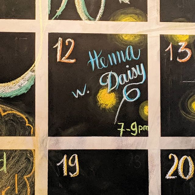Wednesday June 12th henna with Daisy will be in the building! From 7 til 9pm come get some beautiful henna and have some fun!🔥☕♥️ 🔥 🔥 #commongracecoffeeco #love #lovedwellservedwell #spreadlove #hennawithdaisy #havefun #dearborncoffeeshop #dearbornfun #wednesday #spreadtheword #greatcustomers #greattimes