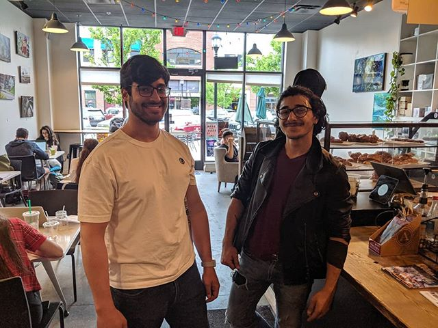 So thankful for the coolest customers!☺️♥️🔥🚀☕ ☕ ☕ #commongracecoffeeco #coolkids #spreadlove #detroitfun #dearborncoffeeshop #dearborn #tearitup