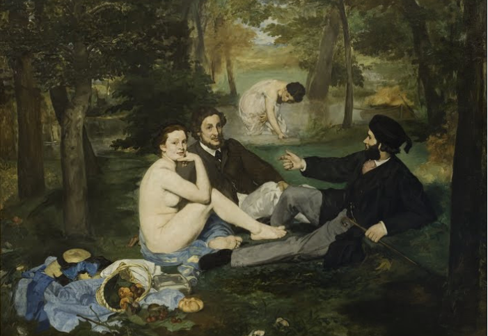 Edouard Manet,  The Luncheon on the Grass , 1862