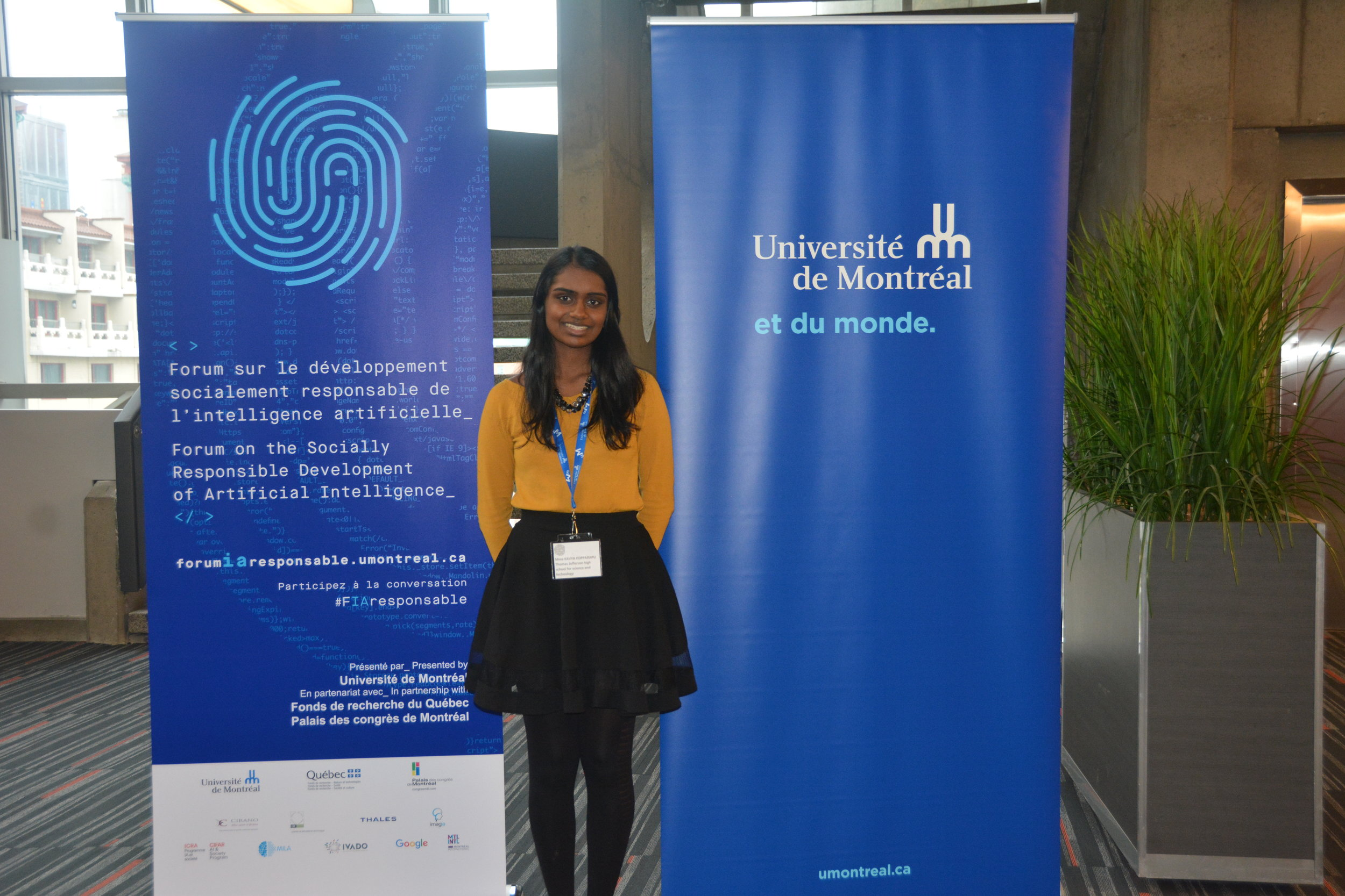 "Presented on the Healthcare Panel at the ""Forum on the Socially Responsible Development of Artificial Intelligence"" in Montreal, Canada"