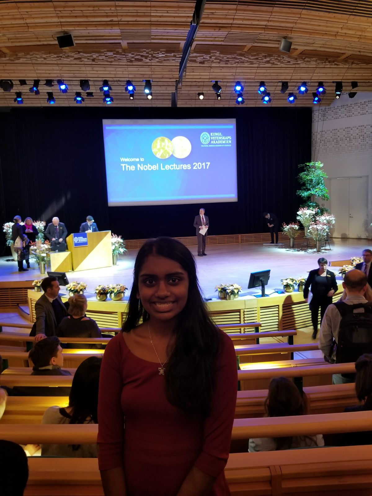 Received Travel Grant and Invitation to attend the 2017 Nobel Prize Ceremony in Stockholm, Sweden