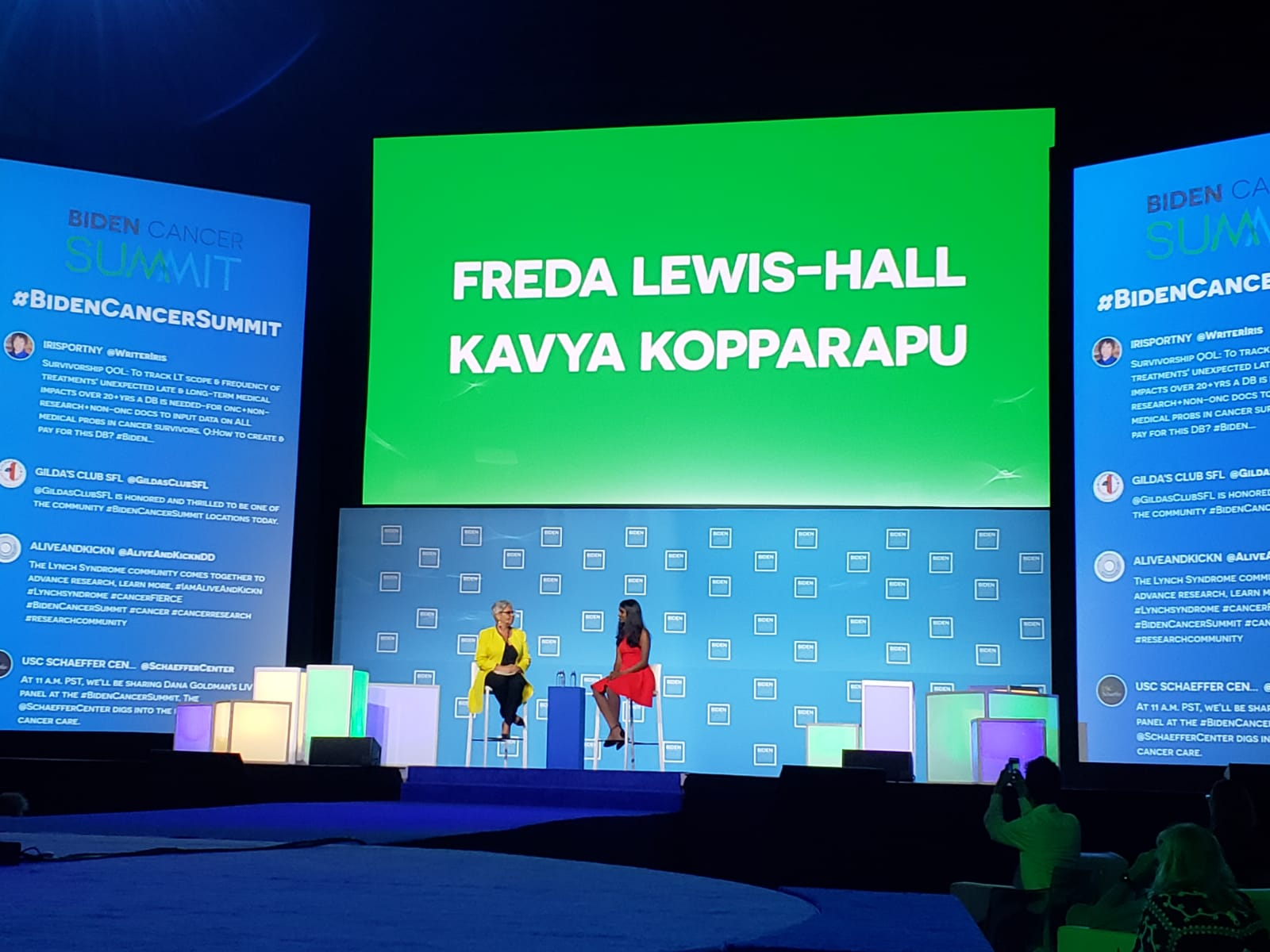 Fireside Chat at the Biden Cancer Summit with Pfizer CMO Dr. Freda Lewis-Hall