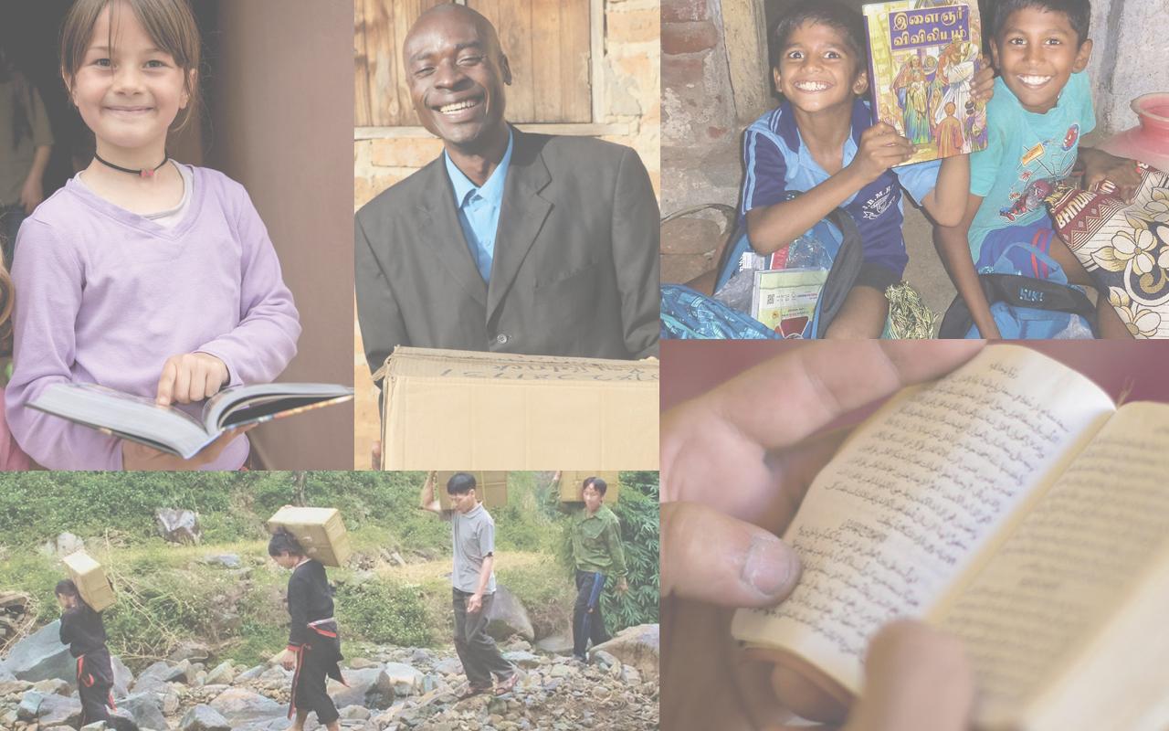 Be a part of sending Bibles worldwide! -