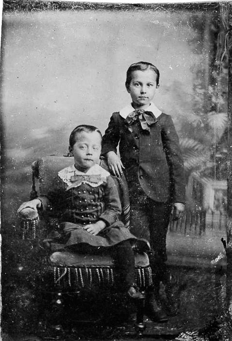 William Isaiah Austin & his brother Ellis McGregor Austin