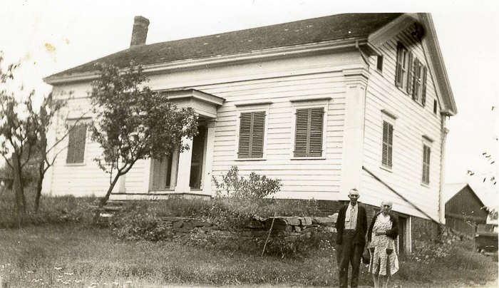 Adelbert (1854 - 1936) & his wife Elizabeth (Libbie) Isabella Downing (1854 - 1938)