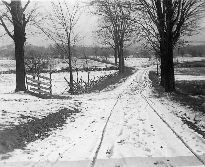 View near Quaker Road