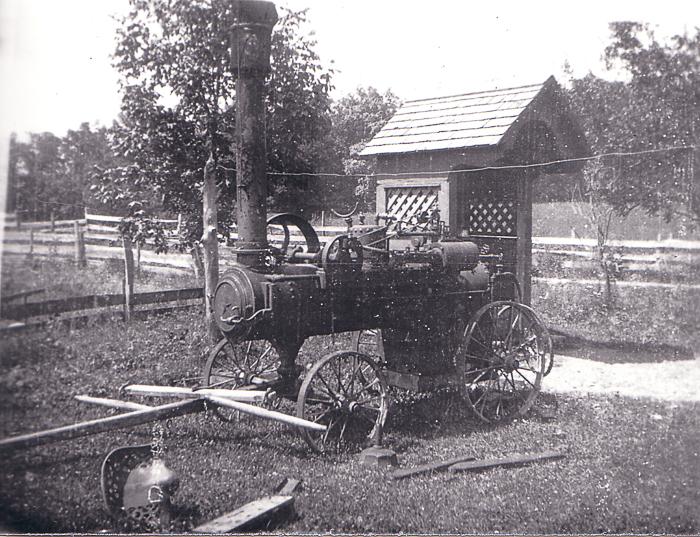 Austin threshing machine
