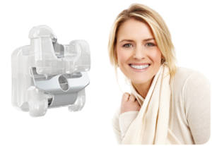 "Our ""clear"" braces combine the esthetic benefits of ceramic with the advantages of a self-ligating system!"