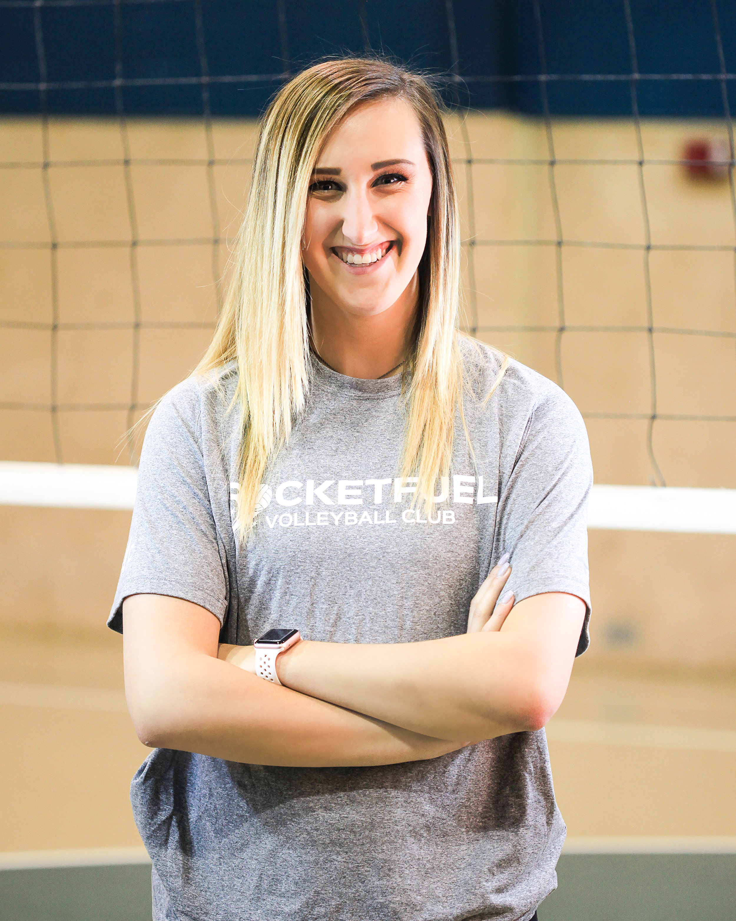 Makenzie Shaw - Meet Makenzie Shaw of our Shreveport RocketFuel Volleyball program. Shaw is a senior at Centenary College of Louisiana. She plays outside/right side hitter for Centenary, and she also sets. Makenzie is from Fort Worth, Texas. She has 12 years of experience playing volleyball. She played all four years of varsity in high school and played club for Nortex, Summit and Victory.
