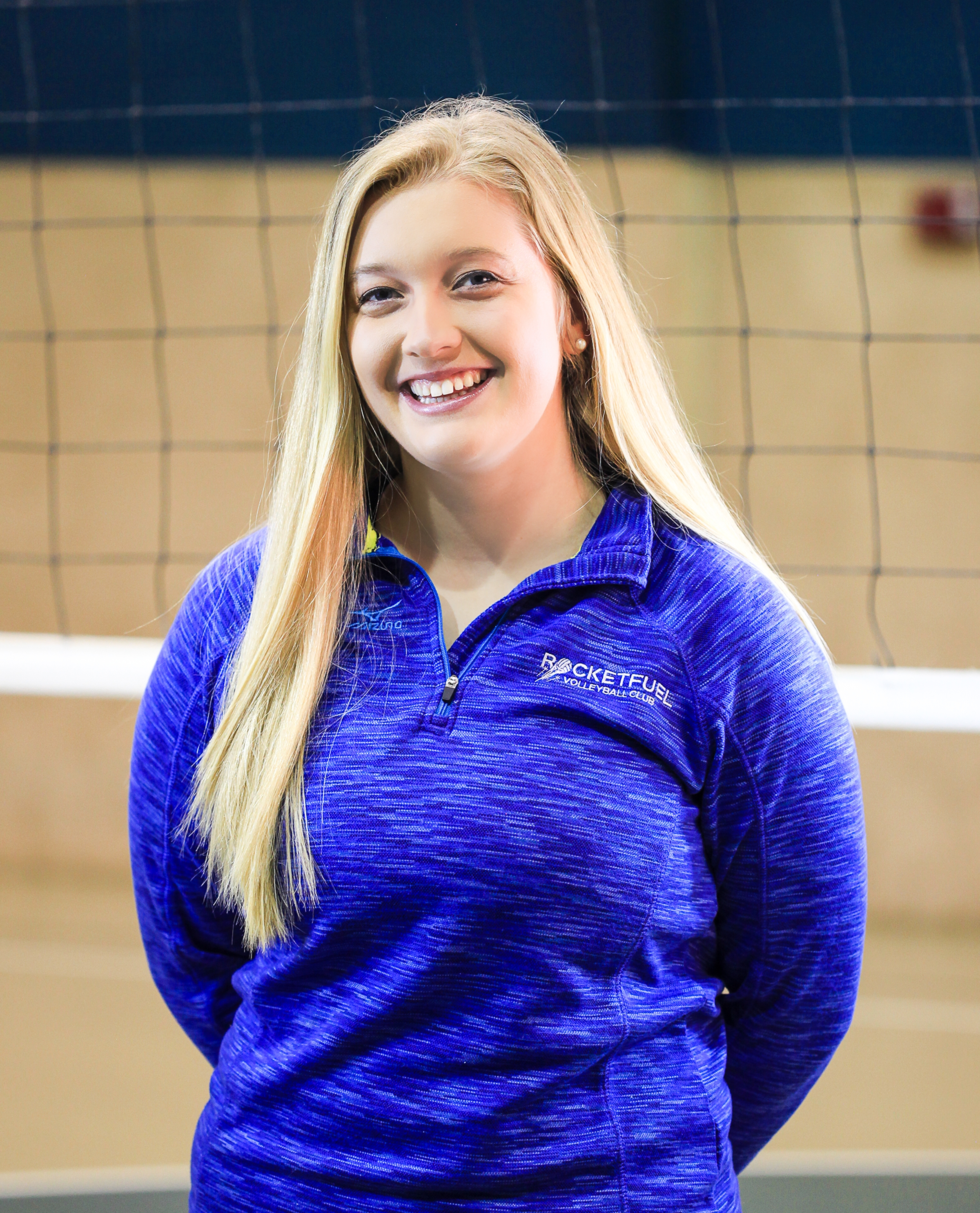 Allison Lazewski - Allison Lazewski joined our Shreveport RocketFuel Volleyball program in the 2017-18 season. She is a graduate of Centenary College with a degree in sociology.Lazewski played on the Centenary Ladies volleyball team for 4 years, and played many years prior to college. She is from Dallas, TX where she played for Summit Volleyball Club for 6 years and Blocksport Volleyball Club for two years. She also played 4 years on the varsity volleyball team at Woodrow Wilson H.S She has experience in almost every position, but for most of her career she has been a Setter.