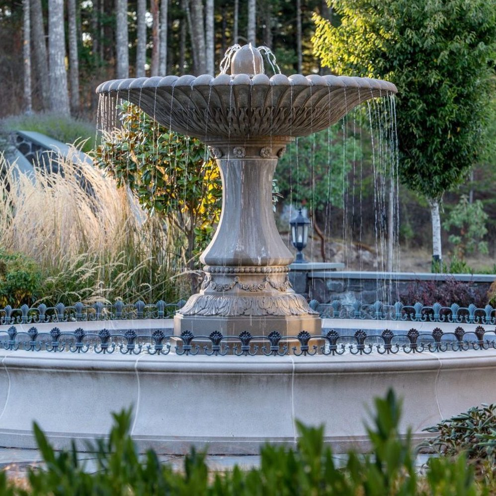 Eagle's Nest Estate Fountain -