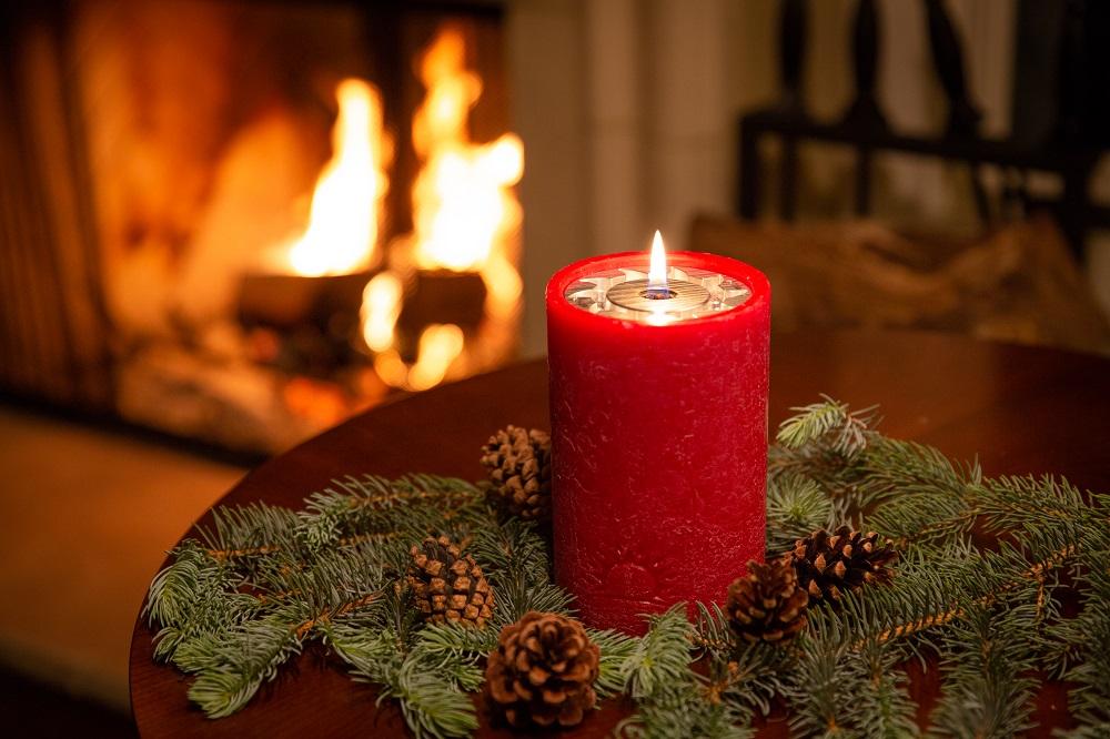 The LuDela Perfect Pillar candle. Image courtesy of LuDela.