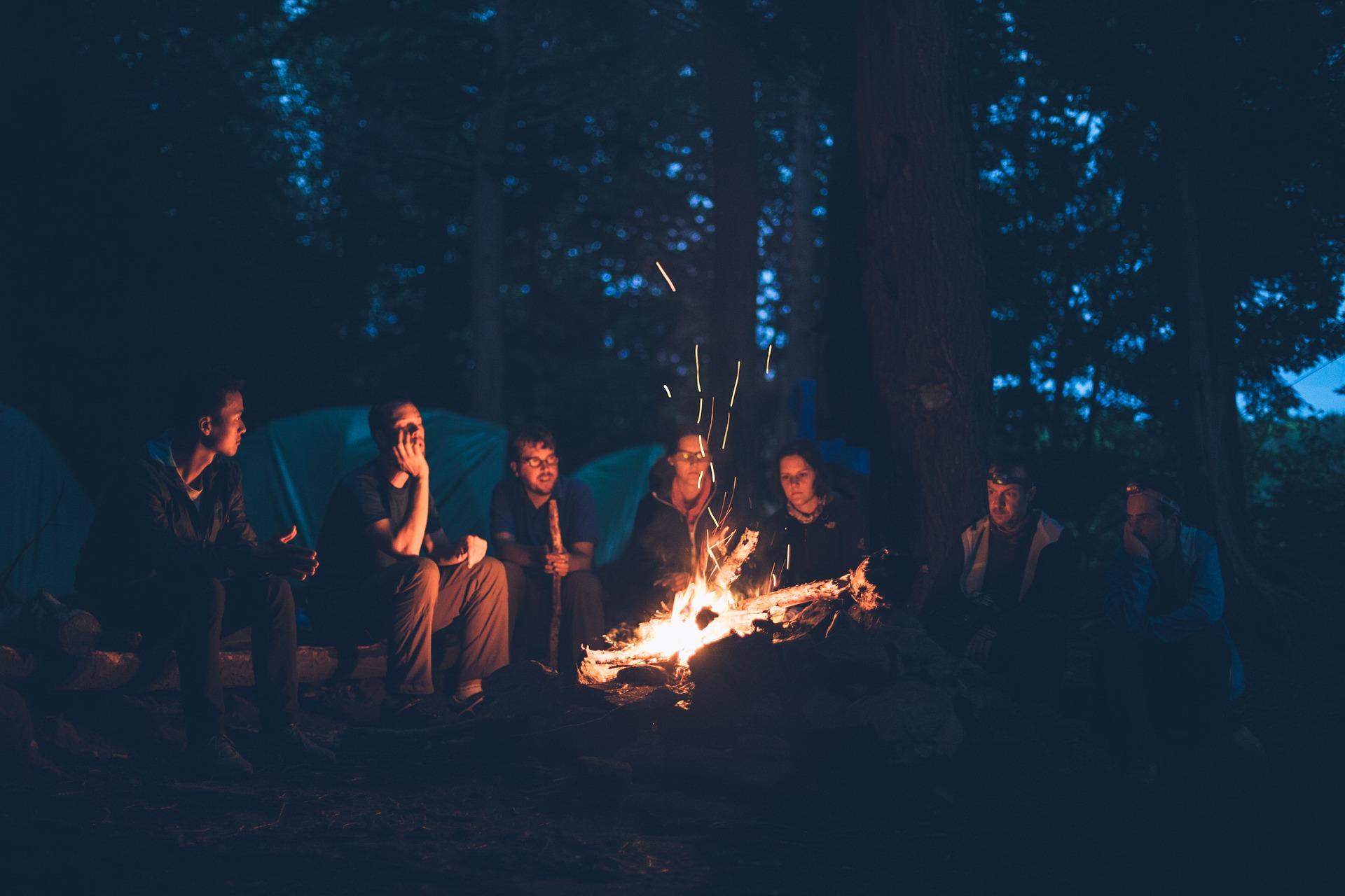 Campfire image courtesy of  Pexels at Pixabay