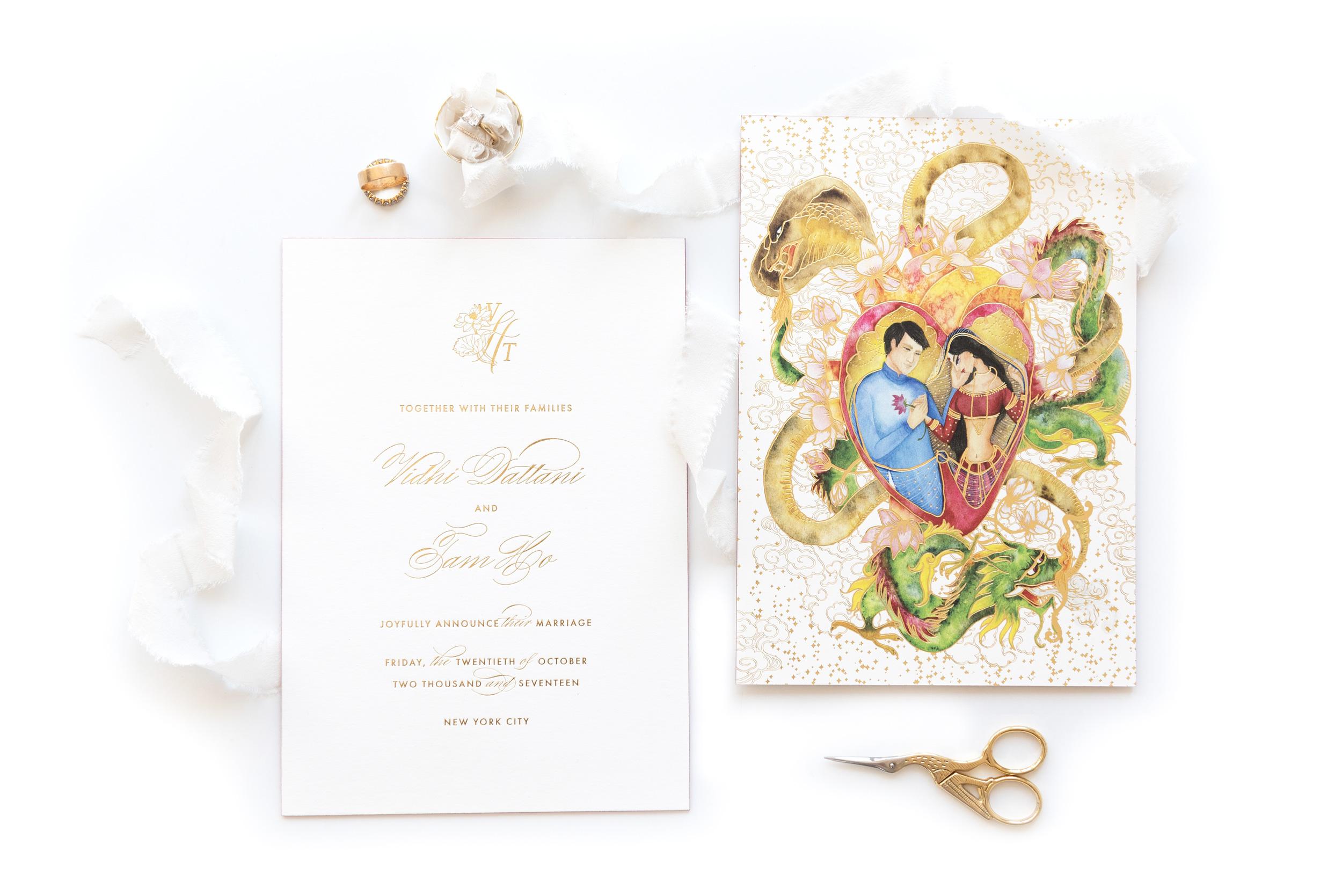Vidhi-Dattani-Announcement-Watercolor-foil-letterpress.jpg