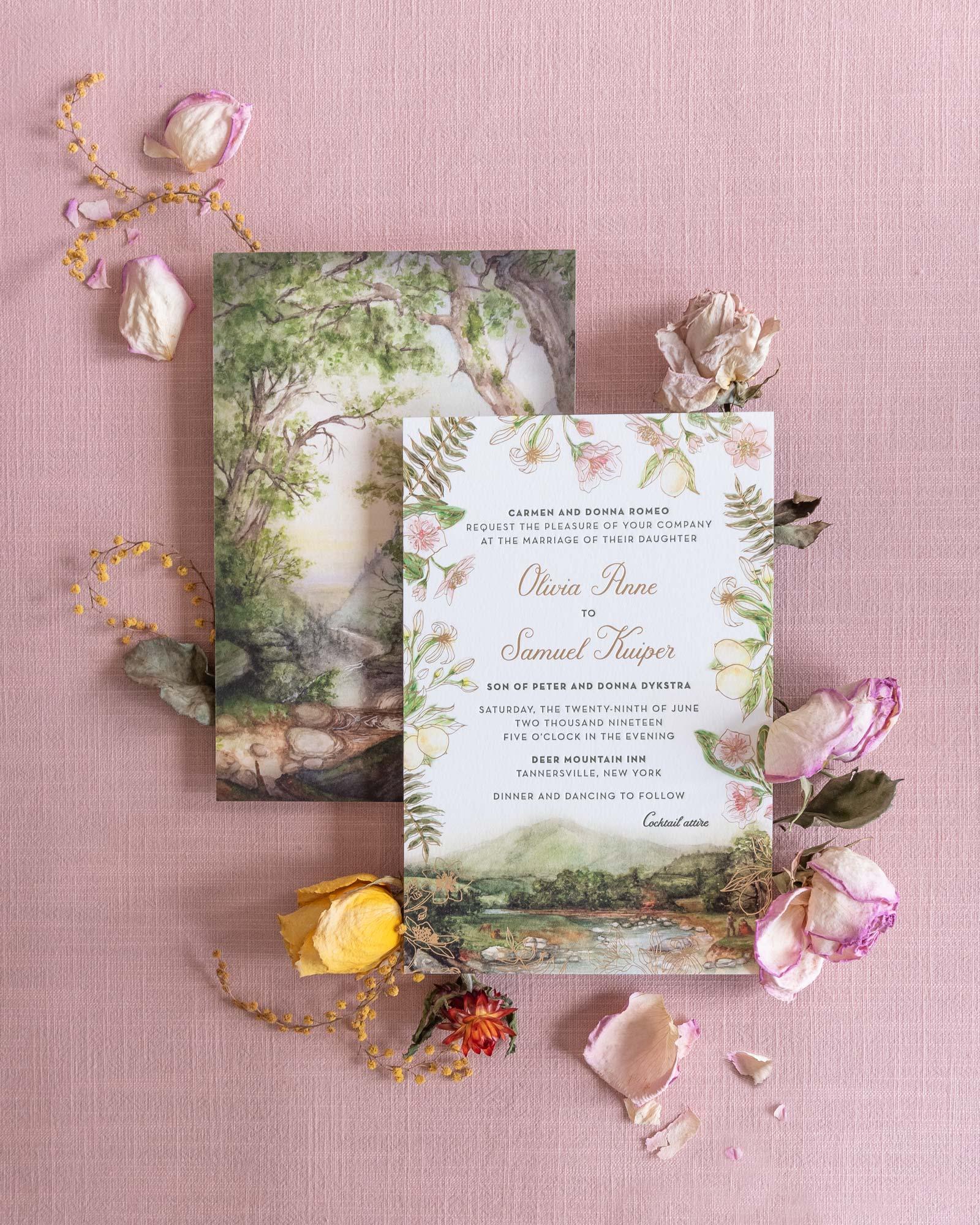 Vidhi-Dattani-Catskills-Whimsy-Invitation-Painting-flowers-landscape.jpg