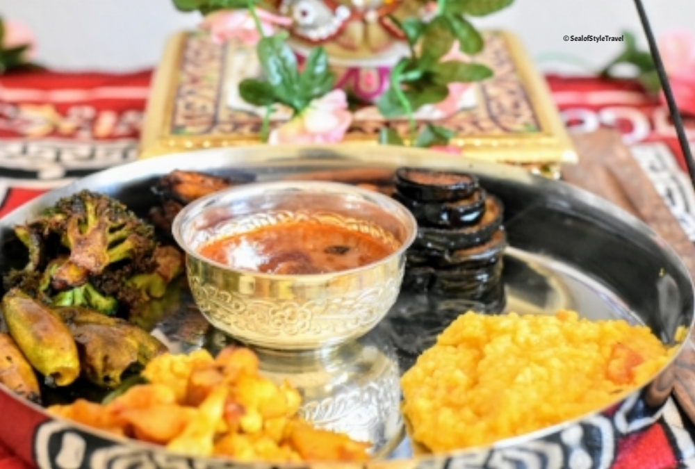Food Offered to Lord Ganesha