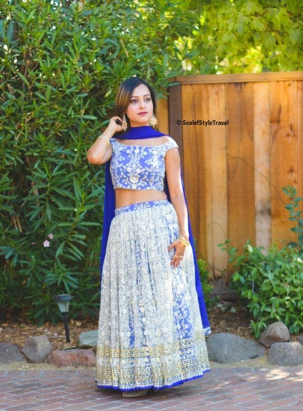 Custom outfit made by Indian Fashion Cottage