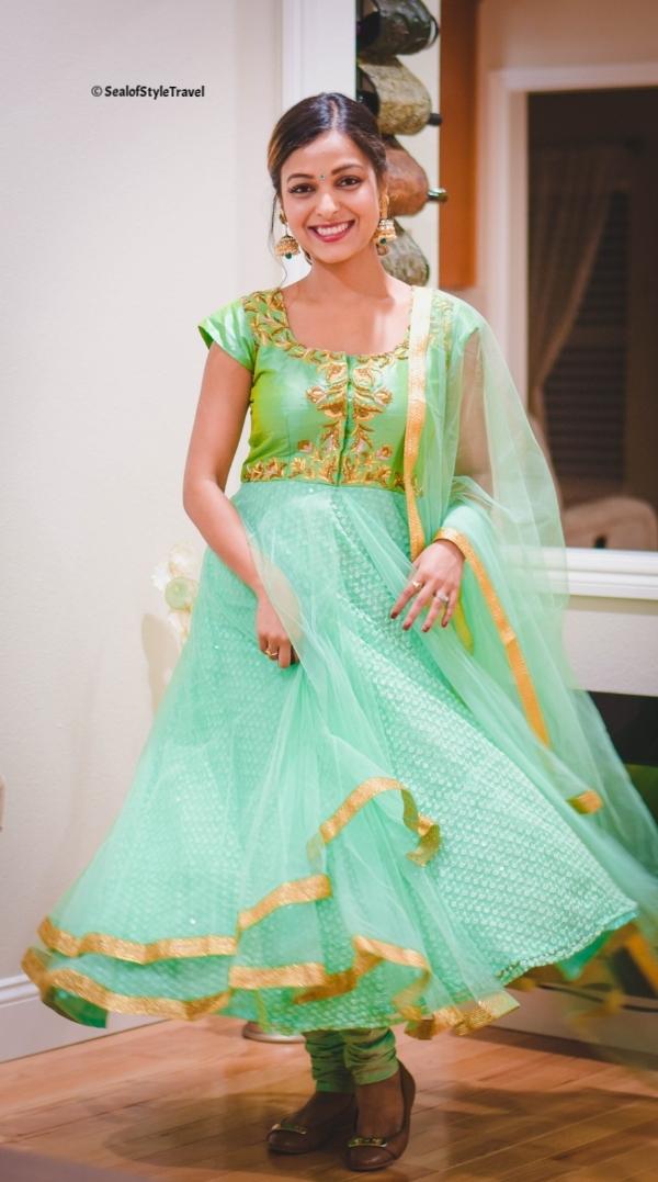 Anarkali from Nishra's designer studio
