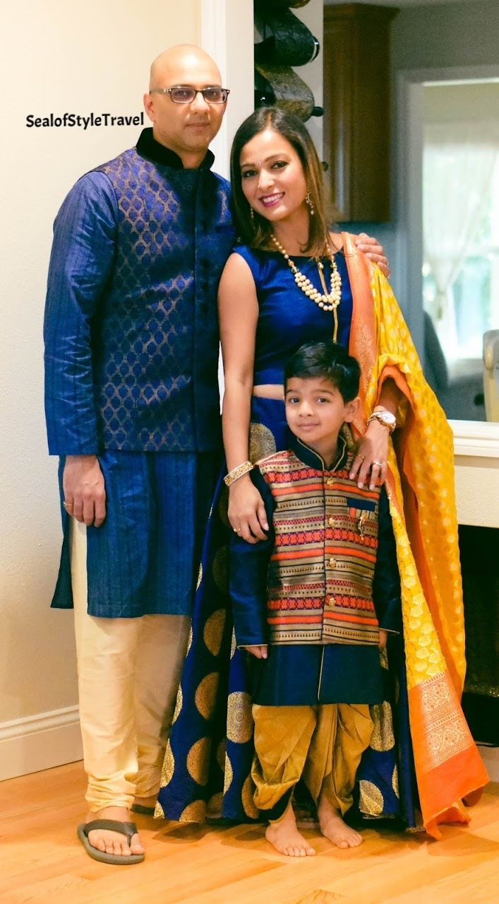 """The very """"Blue"""" family :-)"""