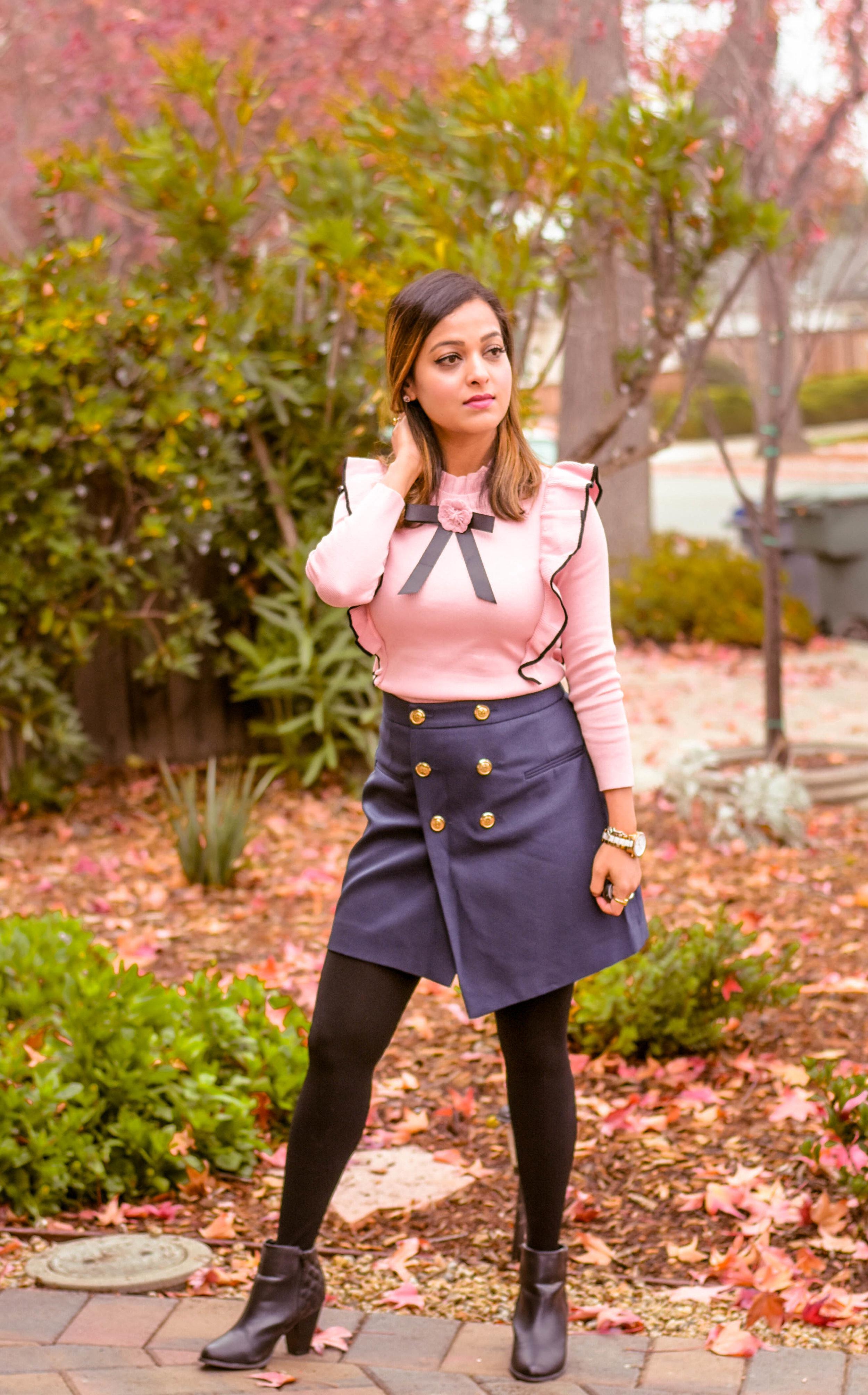 Top Shein    Skirt ASOS    Shoes- Aldo