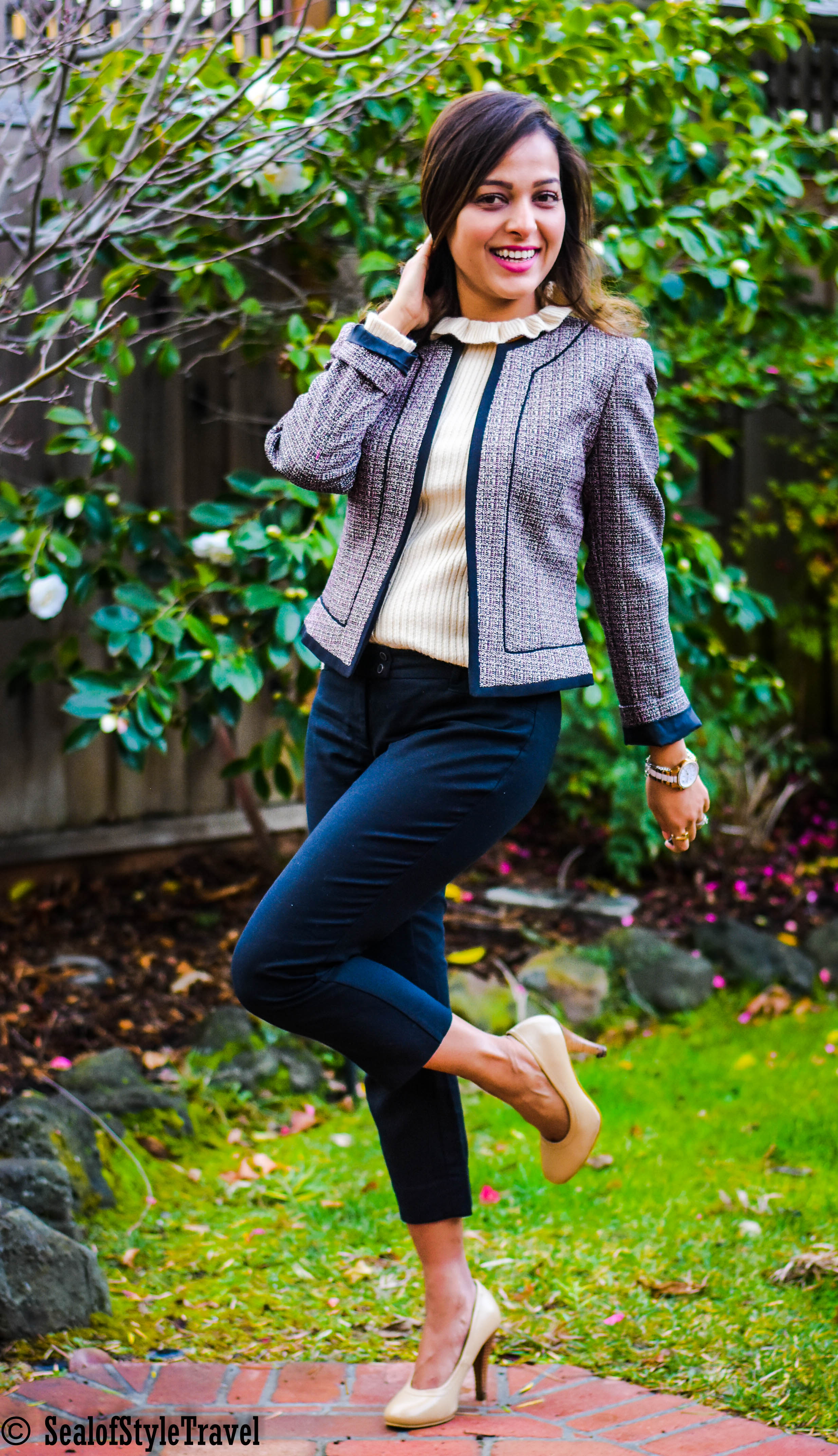 Blazer- click on the picture for similar   Shoes - Steve Madden