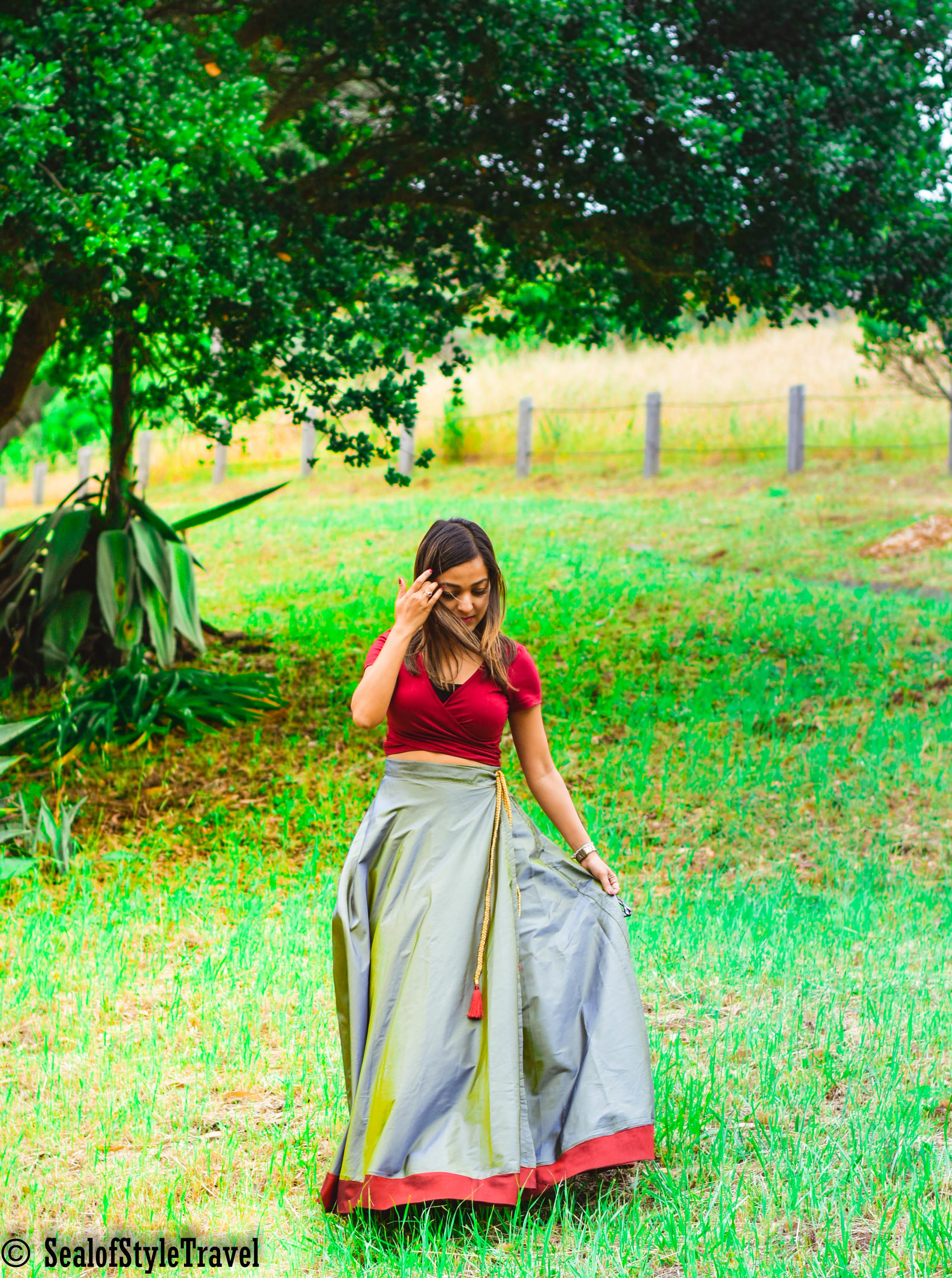 Skirt- Etsy   Top- Amazon