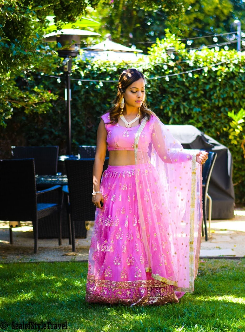 Outfit-  Designs by Simran   Jewelry- Local boutique in San Jose CA