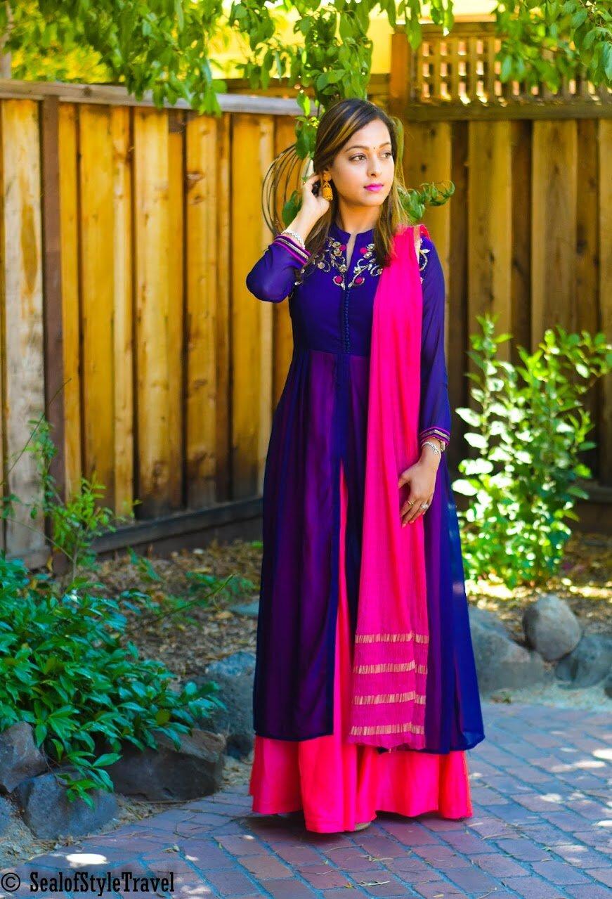 Outfit - Divine Designer wear- Mumbai India (Lokhandwala)  Jewelry-  Tarinika