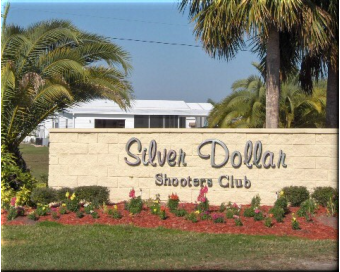 Entrance to the Silver Dollar in Odessa, FL. (photo courtesy of Trap and Field Magazine)