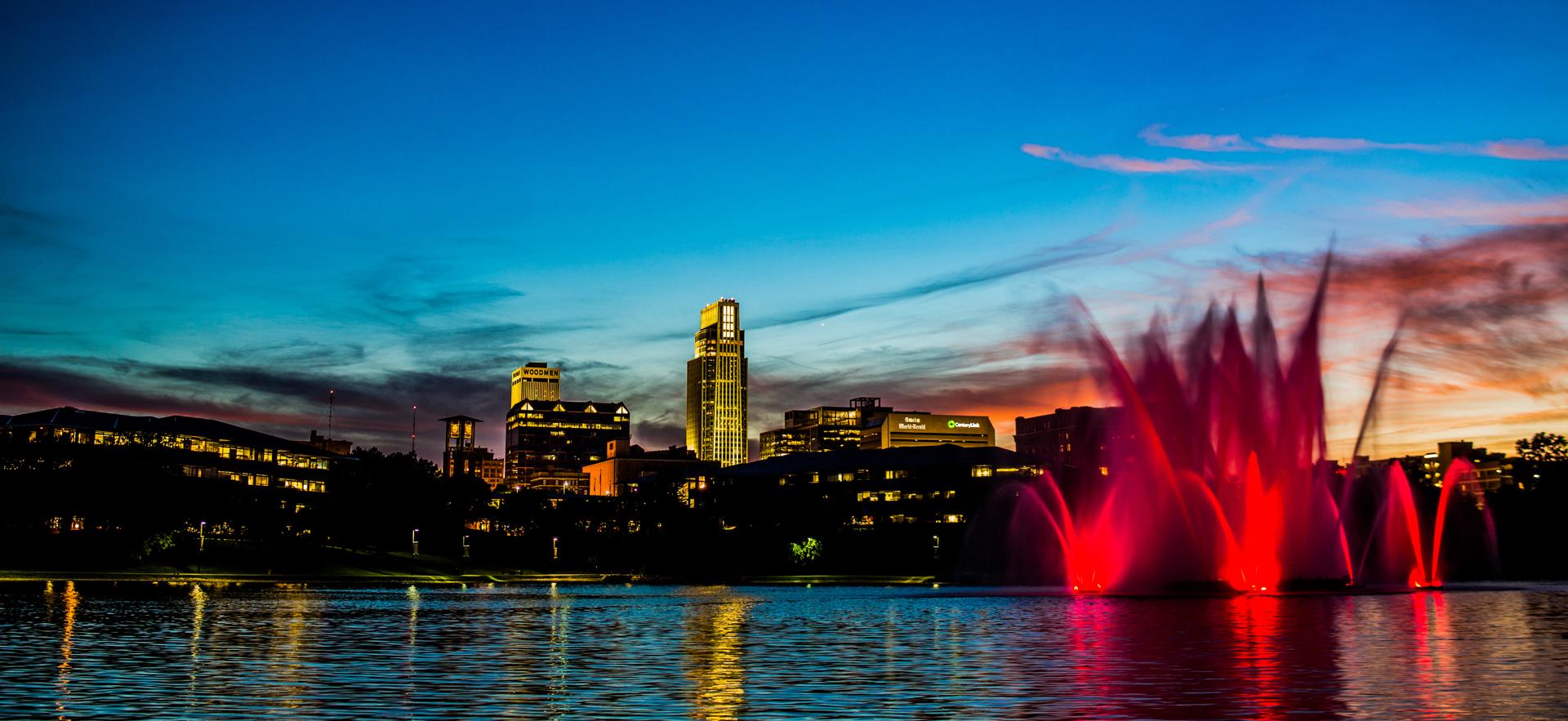 Heartland Park Fountain