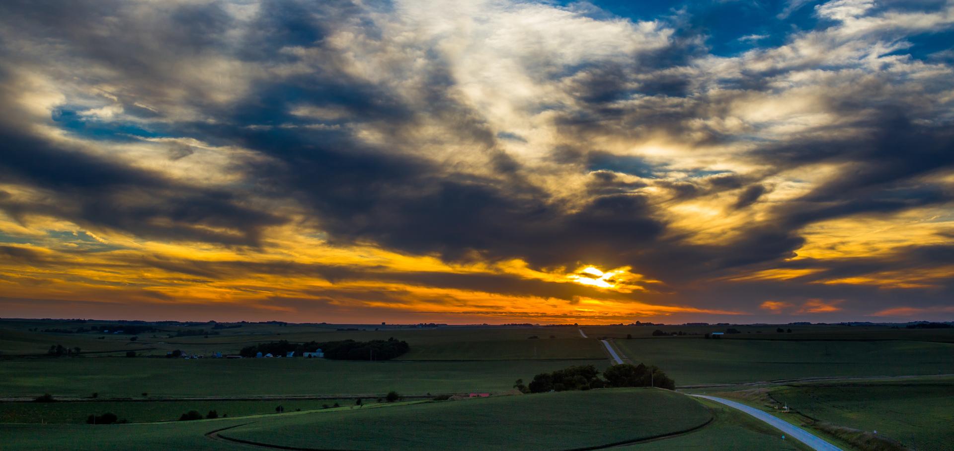 Lyons, NE Sunset
