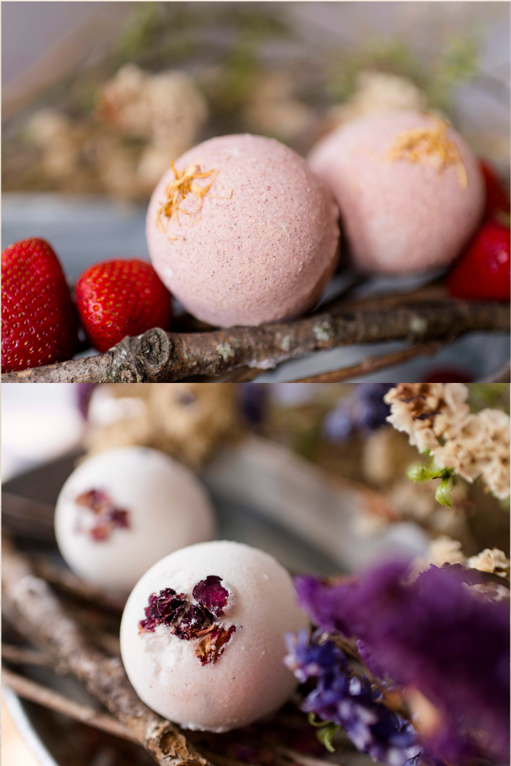Natural Bath Bomb Fizzies by Cricket n Willow