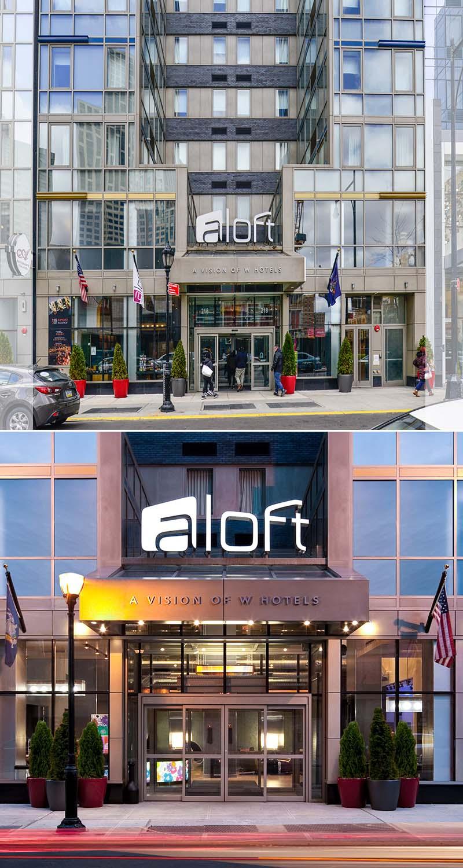 Aloft Hotel  216 Duffield Street