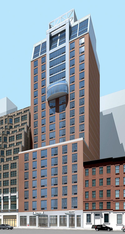 Hilton Garden Inn  326 W 37th Street