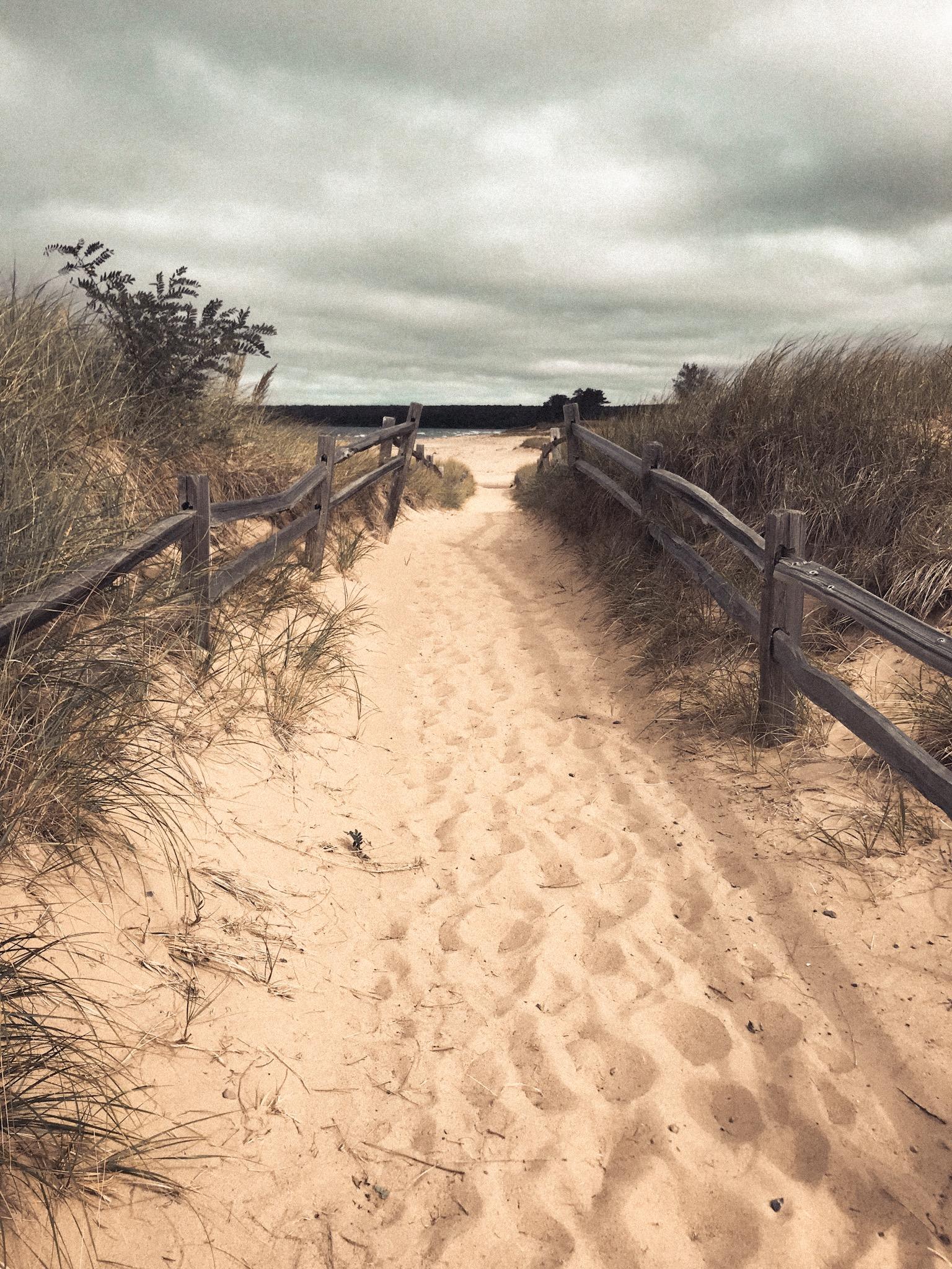Beach Munising Michigan Upper Peninsula .JPG